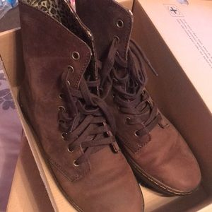 Dr. Martens Brown leather boot